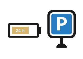 Parkovací mód až den bez nabíjení