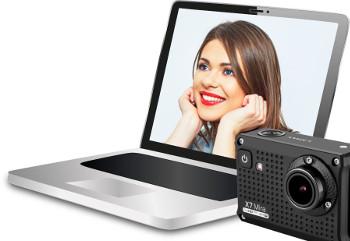 Širokoúhlá webkamera