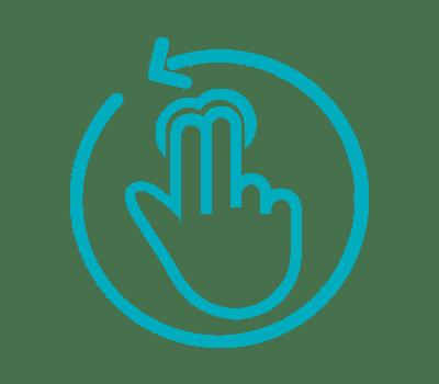 Dotykové a rotační ovládání