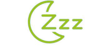 Automatischer Schlafmodus und stiller Alarm