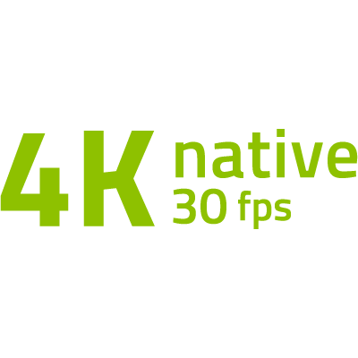 4K/30 képkocka