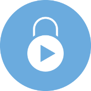 One click video lock