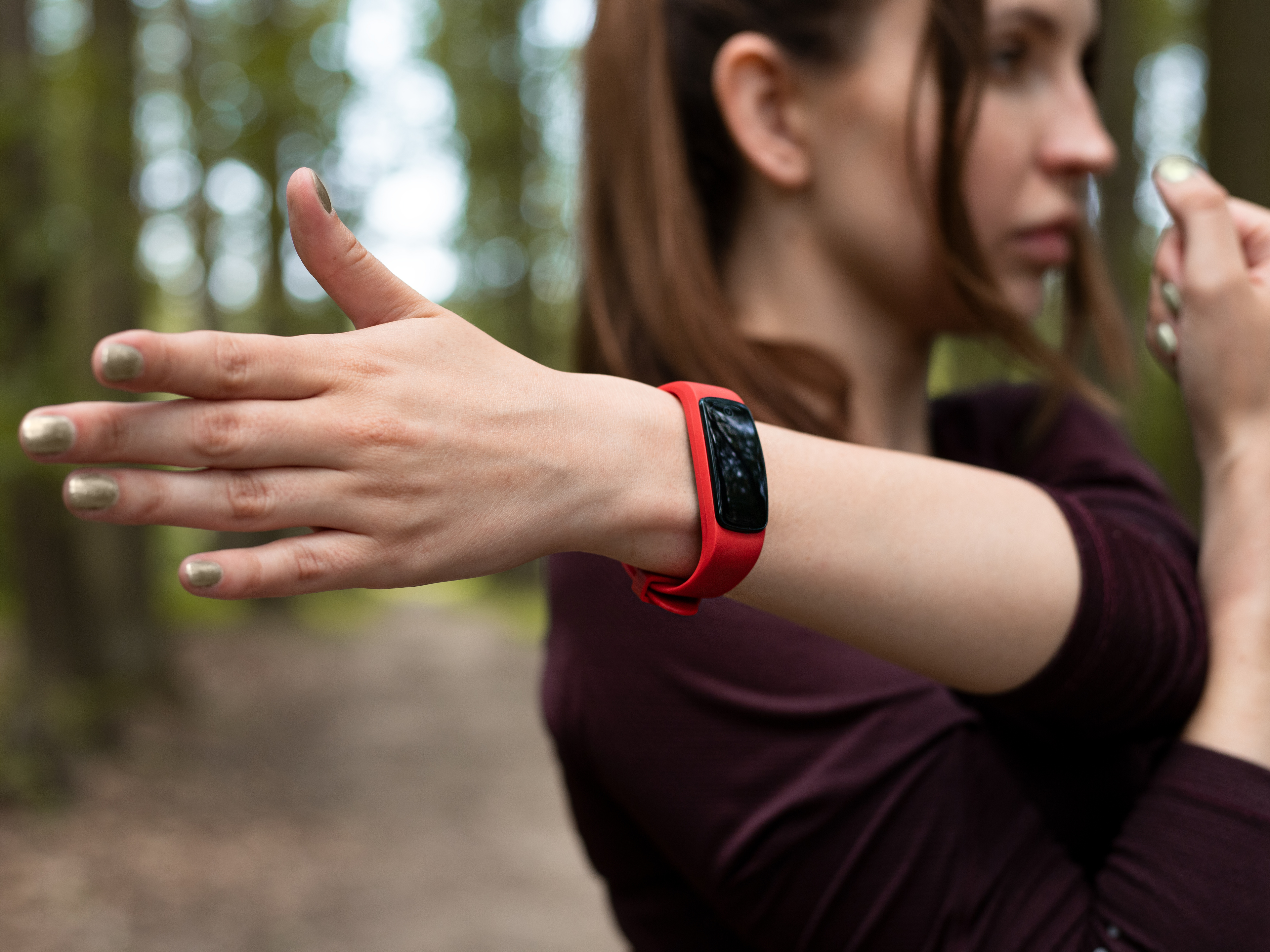 Fitness Trainer on Your Wrist