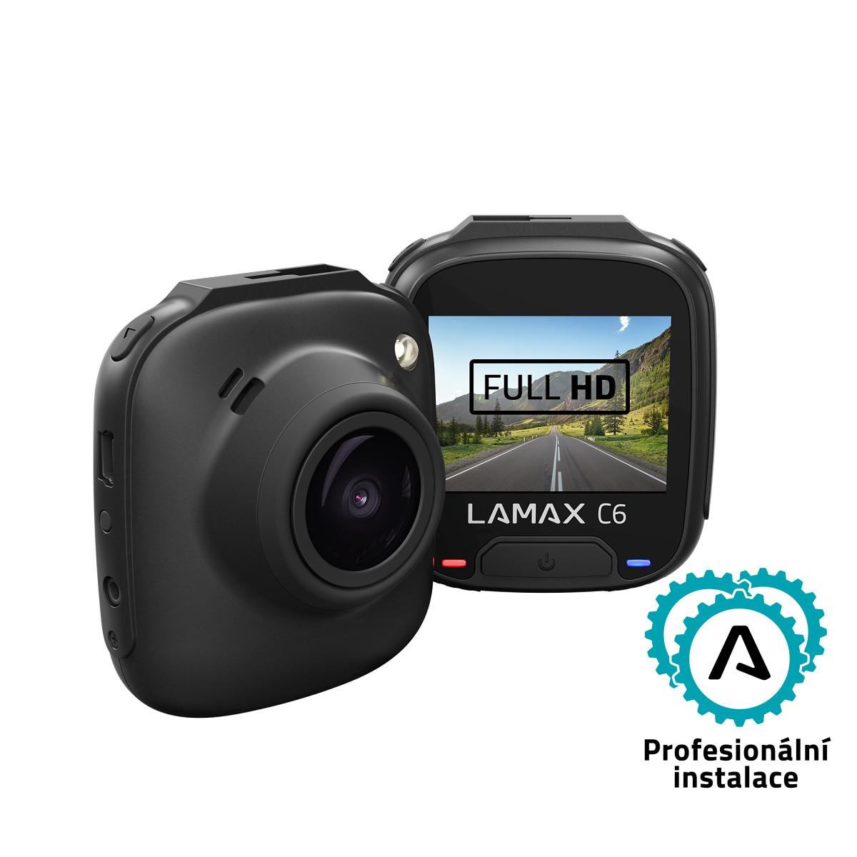 LAMAX C6 - Hlídá každý kilometr
