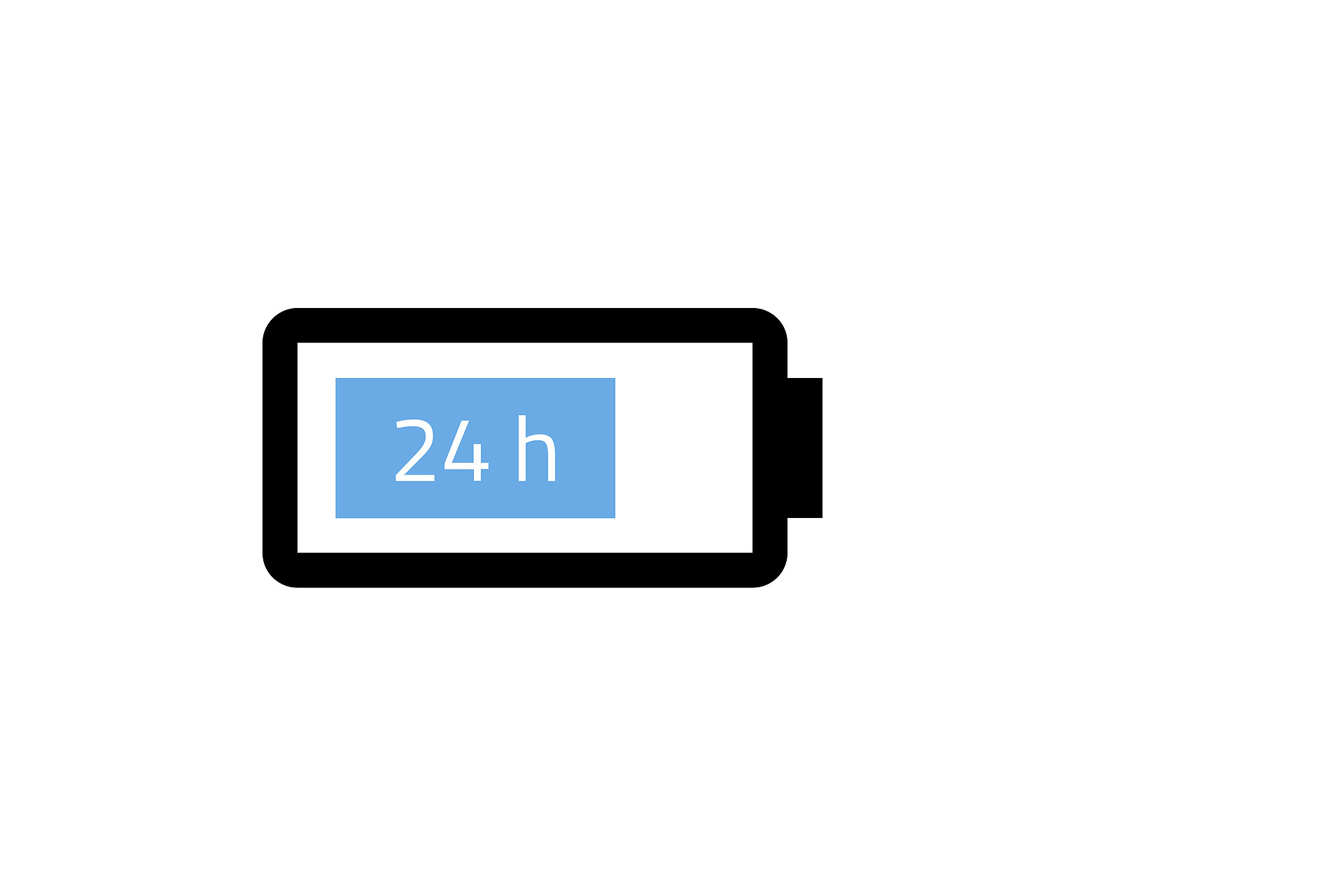 <strong>24 hour</strong> parking mode on a single charge