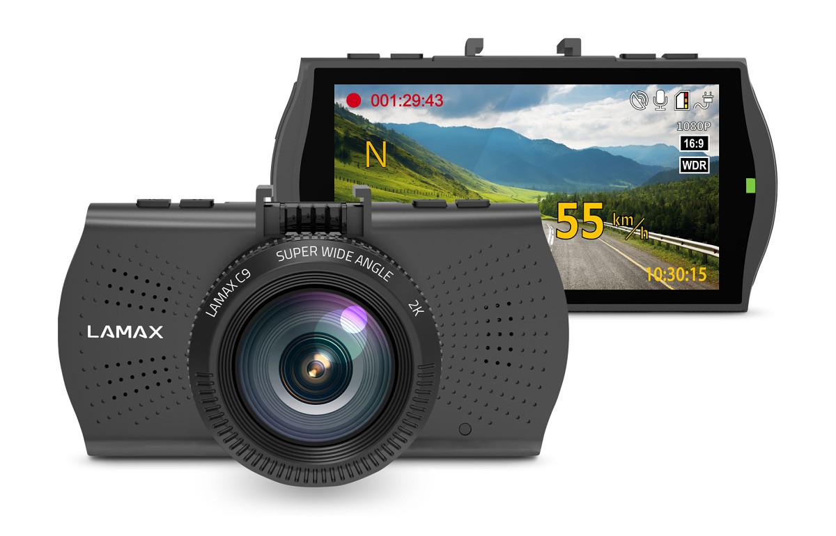 LAMAX C9 – Doskonałe nagrania zapewniające bezpieczniejszą podróż dniem i nocą