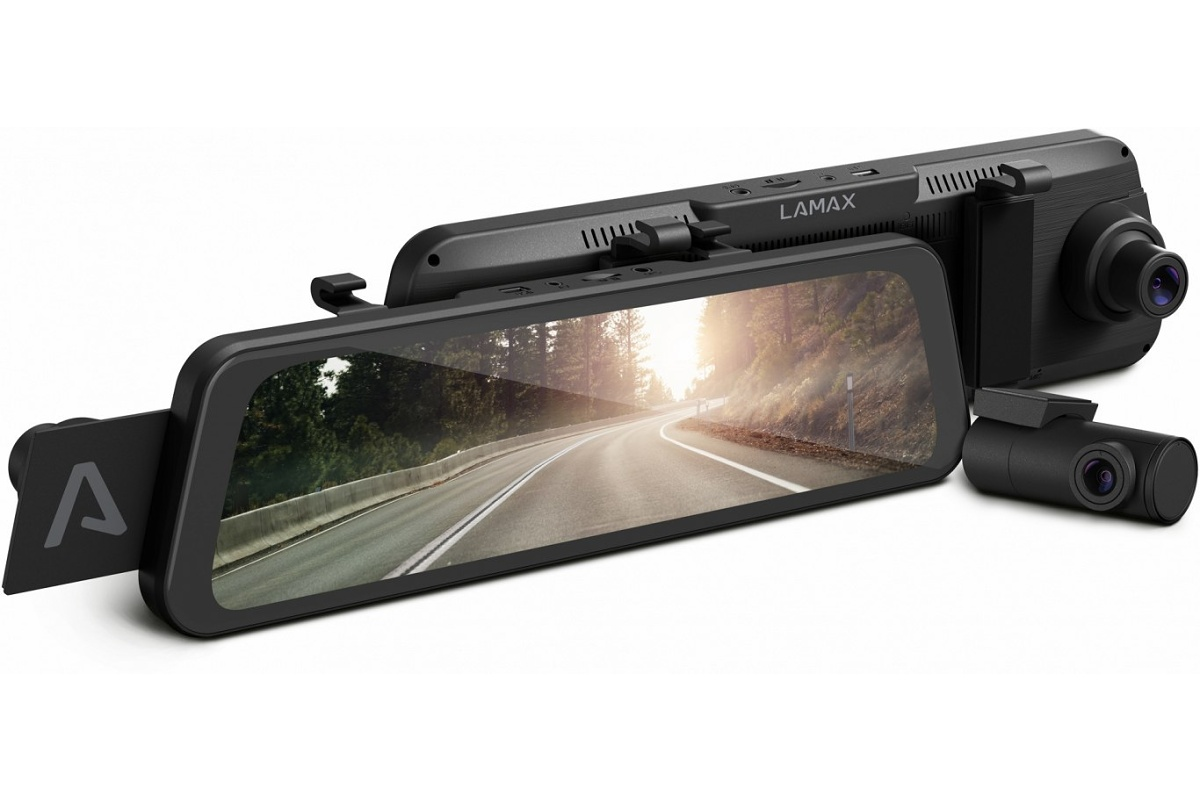 LAMAX S9 Dual - Turn your rearview mirror into a dashcam