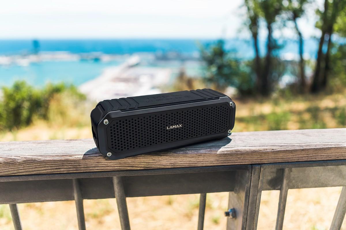 Kompaktní sound systém do ulic velkoměsta i přírody