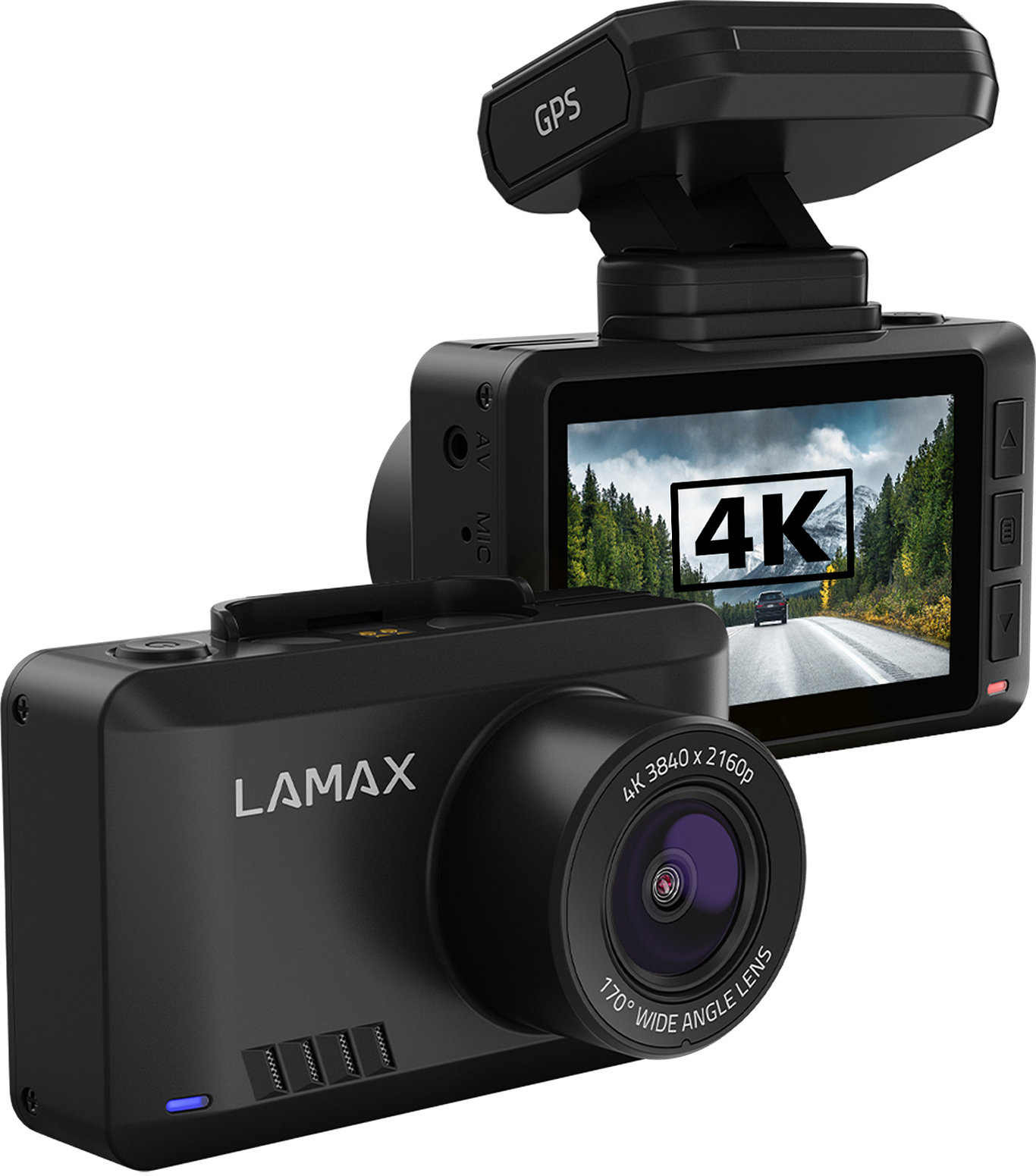 LAMAX T10 - 4K protection against disputes and speed cameras