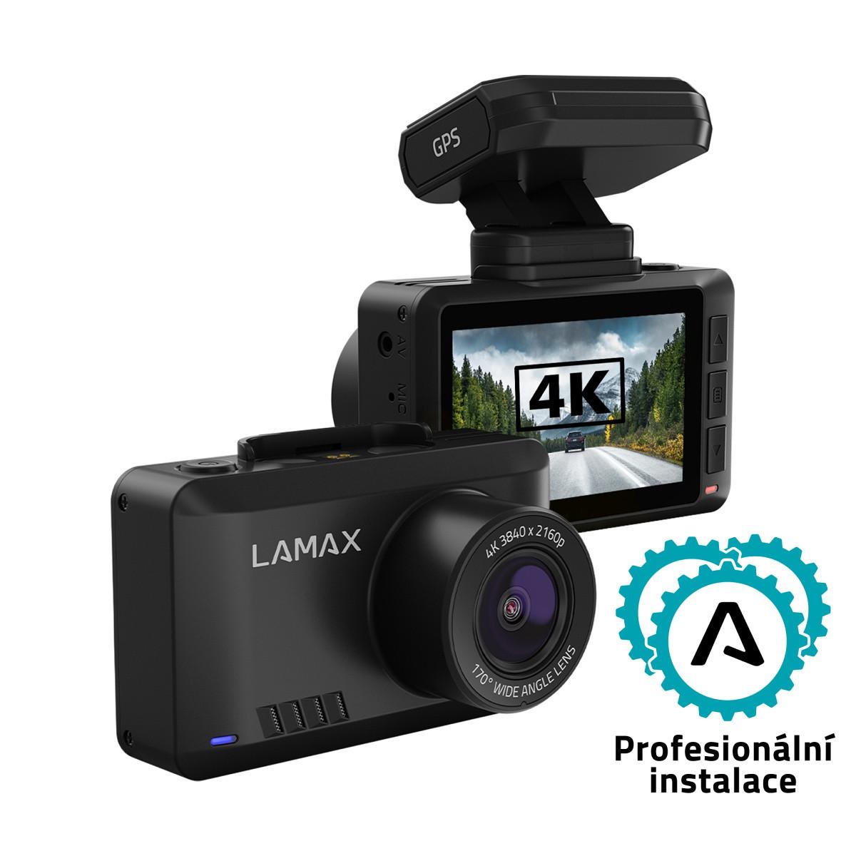 LAMAX T10 - 4K ochrana před spory i radary