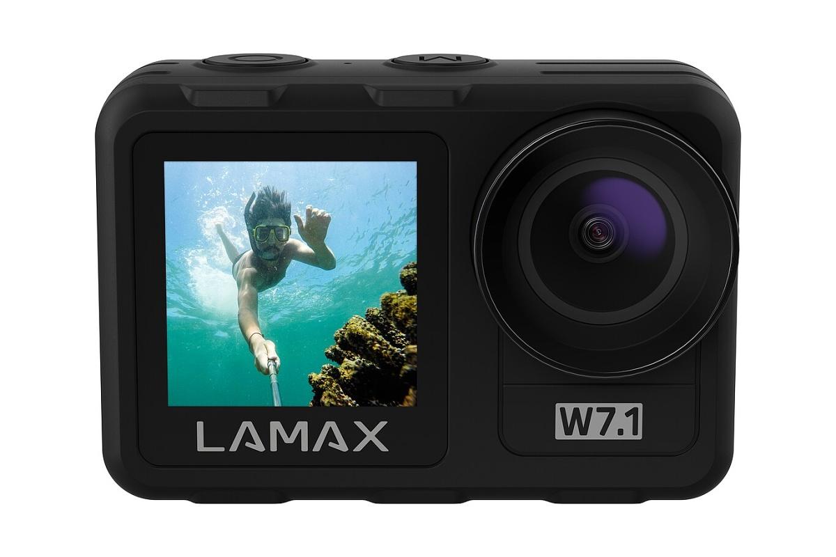 LAMAX W7.1 - 4K kamera pro akční lifestyle