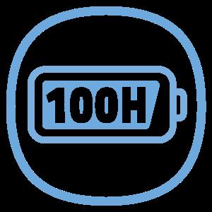 Výdrž až 100 hodín