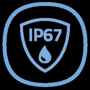 Vodotěsnost IP67