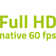 Full HD bei 60 fps